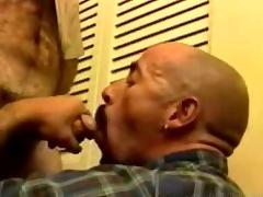 Taxing Daddy Bears Blowjob