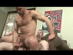 Bears fondle and shot blistering anal coitus