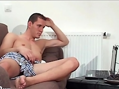 Guys shot webcam masturbation sex with unendingly other