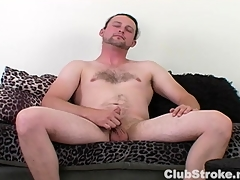 Horny Straight Guy Sean Masturbating