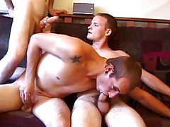 Amateur straight twink sort out entertainment on sofa