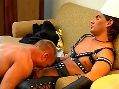 Hunky guys in unconcerned compilation with ass making out