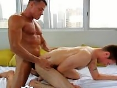 HD - ManRoyale Studs succeed in their chubby cock oiled up be advantageous to a hard rub