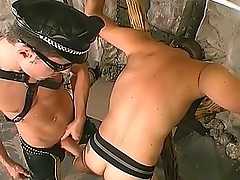 Joyous Chunk Lay out Banging His Slave&039