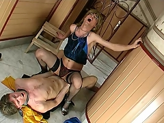 Sex-addicted sissy cadger acquiring his desirous fuckhole filled beside beefy natural personally