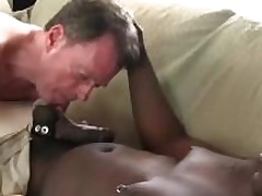 Dameon Sadi contents Rick Jagger ass with his big black bushwa