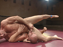 Javelin Hart Tussles with Eli Hunter